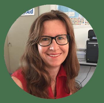 Kathrin Müller, Spendenbetreuung LandsAid