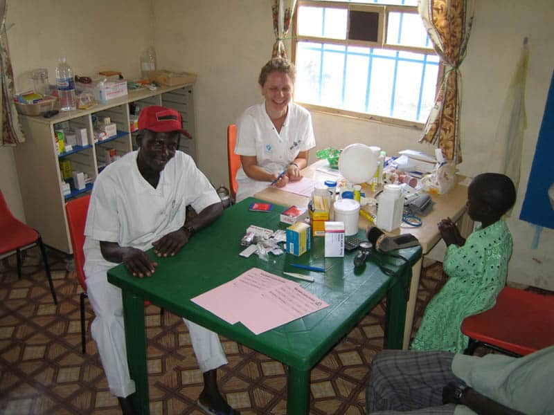 Health Station Gambia