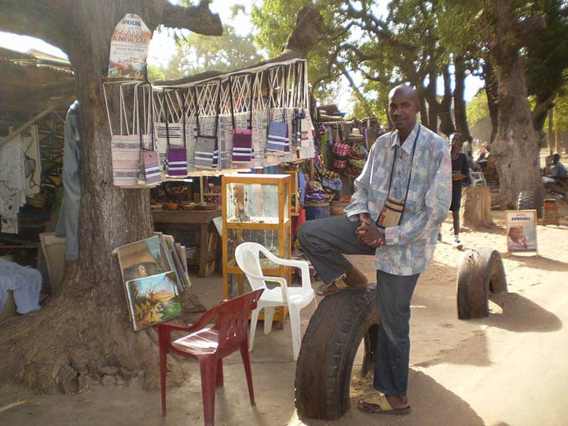 Impressionen Markt Gambia