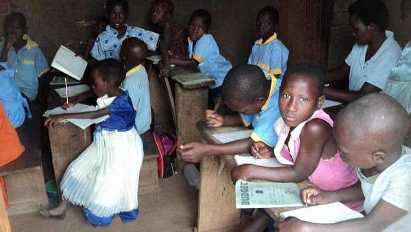 Kinder St Veronica School Kibaale Uganda
