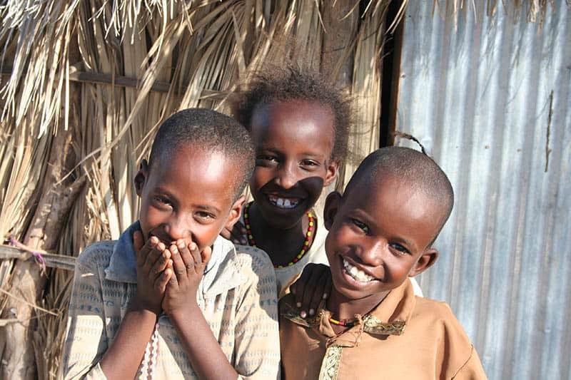 Kinder in North Horr