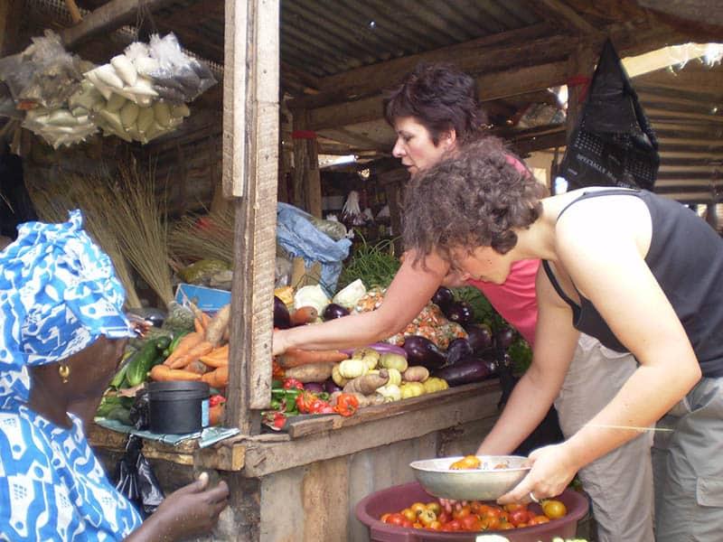 Markt Einkauf Gambia