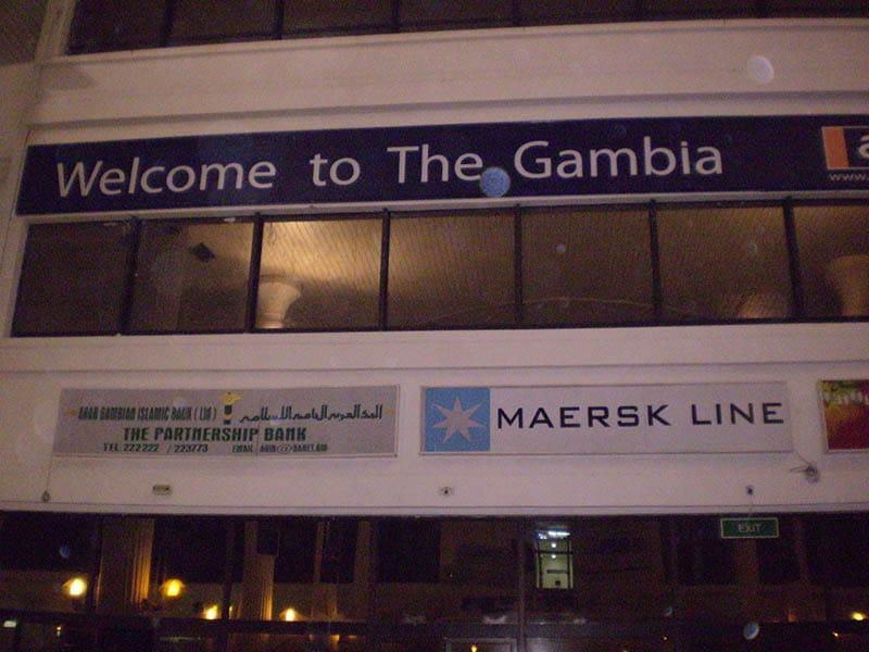 Willkommen in Gambia